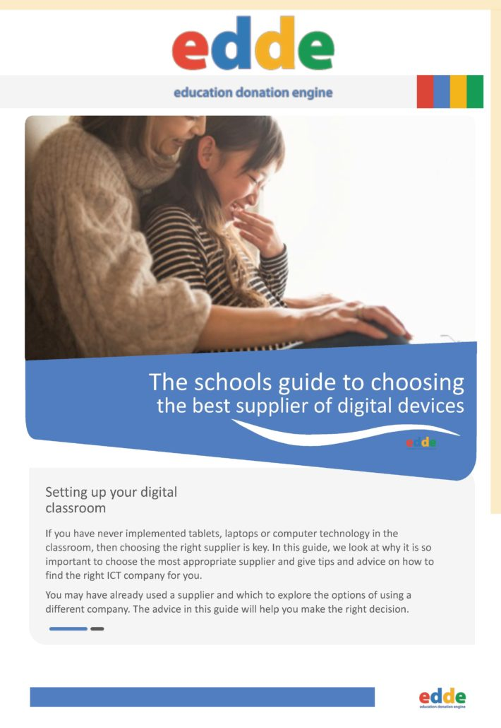 The schools guide to choosing the best supplier of digital devices